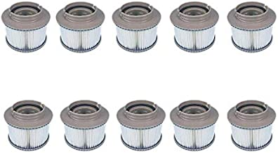 8Pcs//Lot for MSPA Replacement Filter Pack x 8 Inflatable Tub Keep Clean S6J6 1X