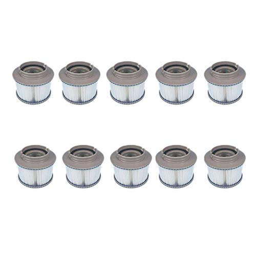 Cobeky 10 piezas/lote para el filtro de repuesto Mspa tina inflable mantener limpio para el filtro Mspa cartucho de filtro de agua