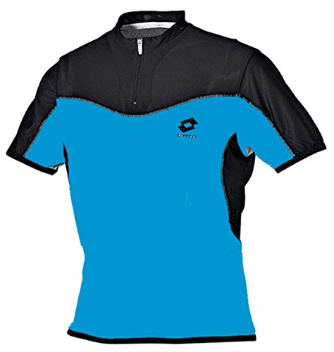 Lotto T-Shirt ATP Skin Hz, Maldive/Black M Mehrfarbig