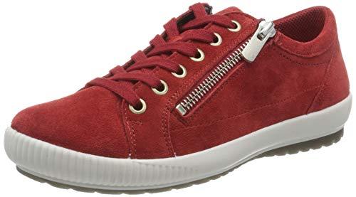 Legero Damen Tanaro Sneaker, Rot Marte Rot 50, 37 EU (Herstellergröße: 4 UK)