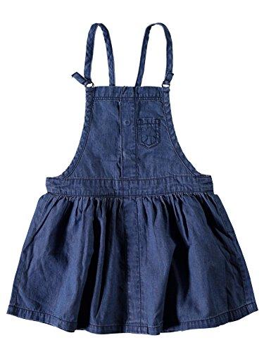 NAME IT Jeanskleid Trägerrock Jeans NITASTA Denim Skirt 13143431 Dark Blue Denim Gr. 98