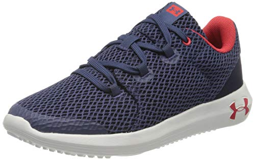 Under Armour Zapatillas de running para Unisex niños, Azul (Blue Ink/White/Versa Red 401), 36 EU