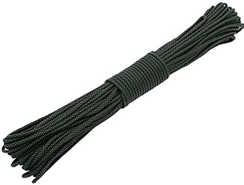 MPWPQ - EU 100 pies diamantes 550 pulsera Paracord Mil Spec tipo III 7 hilos cuerda paracaídas para cordón de costura DIY al aire libre mochila accesorio (color: # 187)