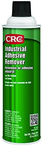 CRC Industrial Adhesive Remover, 15 Wt Oz, 03250