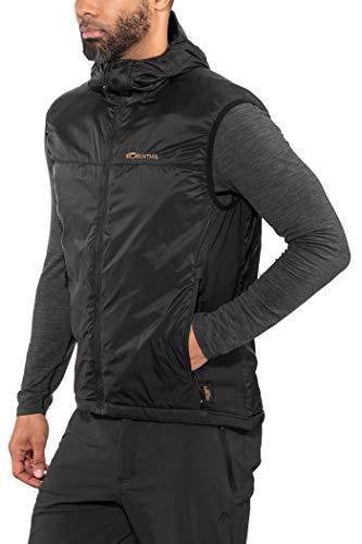 Carinthia TLG Vest – Gilet d'extérieur ultra léger et respirant sans manches pour automne et hiver M Noir