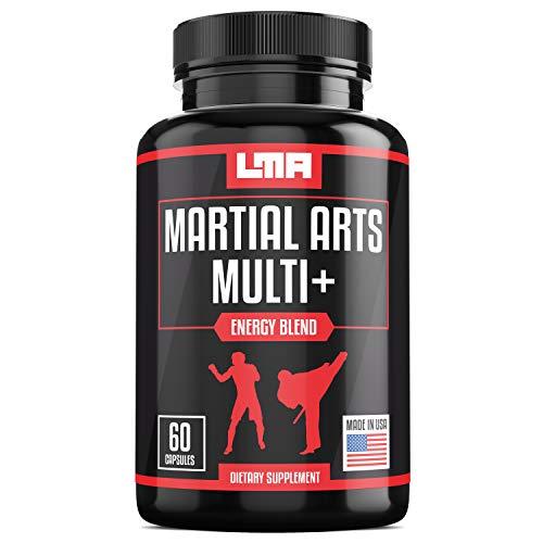 Landmark Martial Arts - Daily Multi Vitamin for Martial Artists, Energy Boost Men's MultiVitamin for Athletes, Vitamin A, C, D, E & Zinc for Immune Support, B12,Calcium,Antioxidant (60 Count)
