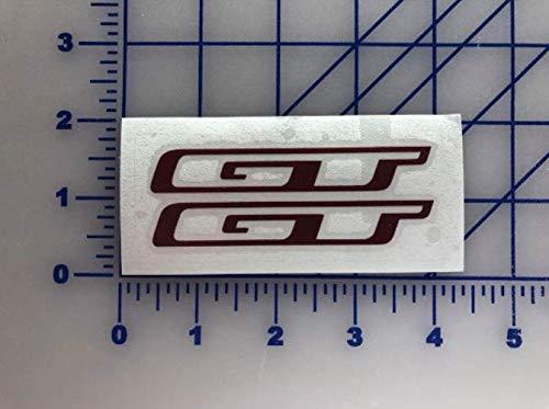 "GT bmx Decal 3.5"" 4.5"" 5.5"" Bikes Cycling Freestyle Mtb Mountain Bike Sticker"