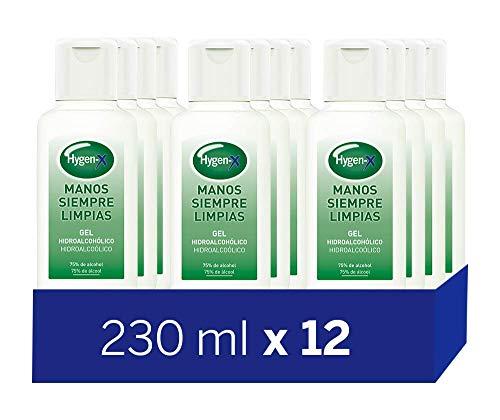Hygen-X Gel Hidroalcohólico Desinfectante para Manos 230 ml