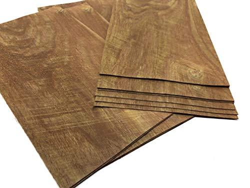 4-5 Furniere in den Holzart Akazie. Furnier geeignet für Modellbau, Ausbesserungsarbeiten, Fotografie, Geschenk, Restauration, DIY, basteln, Intarsien, Schmuck