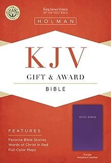 KJV Gift & Award Bible, Purple Imitation Leather