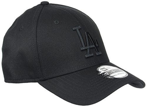 New Era Herren 39Thirty Los Angeles Dodgers Kappe, Schwarz, S/M