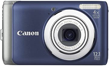 Canon PowerShot A3100IS 12.1 MP Digital Camera with 4x Optical Image Stabilized Zoom and 2.7-Inch LCD (Blue)