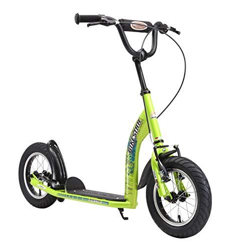 Bikestar Trottinette Enfant 2 Roues pour Garcons et Filles de 6-10 Ans ★ Patinette Enfant 12 Pouces Sportif ★ Vert