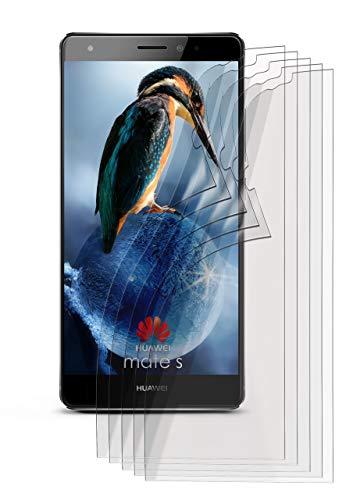 5X Huawei Mate S | Schutzfolie Matt Display Schutz [Anti-Reflex] Screen Protector Fingerprint Handy-Folie Matte Displayschutz-Folie für Huawei Mate S Displayfolie
