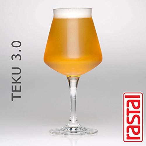 Rastal - conf. 6 Calici Degustazione BIRRA - Mod. TEKU 3.0 - 42,5 cl (14,8 oz)