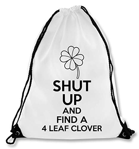 Shut Up and Find A 4 Leaf Clover trekkoord