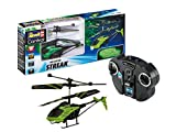 Revell Control- Glow in The Dark Helicopter Streak Elicottero telecomandato, Colore Nero, 23829