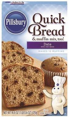 Pillsbury Date Quick Bread 16 6oz Pack of 6 product image