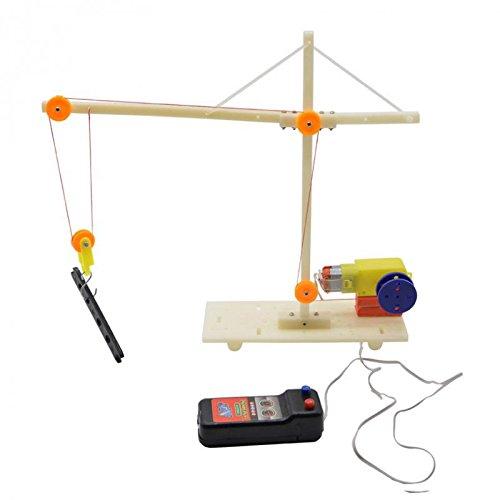 perfeclan DIY Kits De Modelos De Palanca De Polea De Grúa Eléctrica...