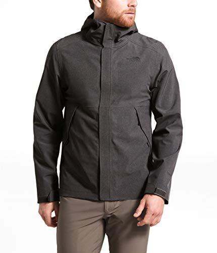 The North Face Men's Apex Flex DryVent Jacket, TNF Dark Grey Heather, Medium