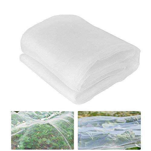 Shengruili Insektenschutznetz,3 * 4mPflanzenschutznetz,Gemüsenetz Garten,Netz für Pflanzen Gemüse,Gemüsenetz,Blumen Schutznetz,Gartennetz Insektennetz,Insektennetz Feinmaschig,Insektennetz