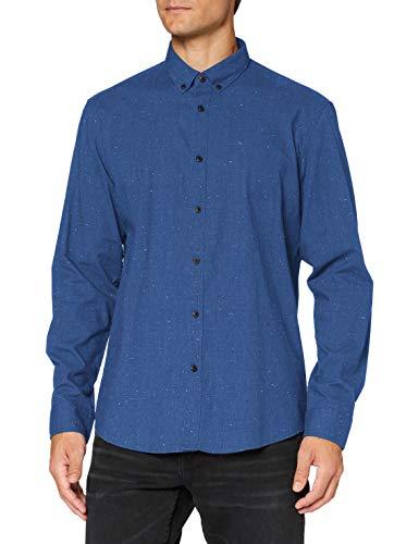 ESPRIT 080EE2F301 Camicia, 424/Grey Blue 5, S Uomo