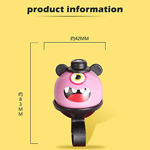 Ysislybin 3 x Bicycle Bell Loud and Clear Bell Bicycle Bell for Children Boys Girls Adults Bicycle Ring for Road Bike Mountain Bike Bicycle Accessories
