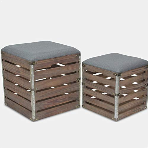 Kiger Flip Top Storage Bench, Storage Included: Yes, Each Bench Comes with a Lift-Off lid to Reveal Inner Storage
