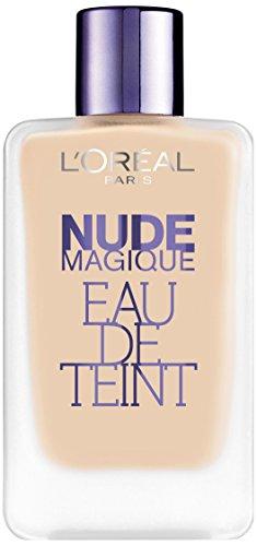 L'Oréal Paris Nude Magique Eau de Teint, Fondotinta Porcelain 100