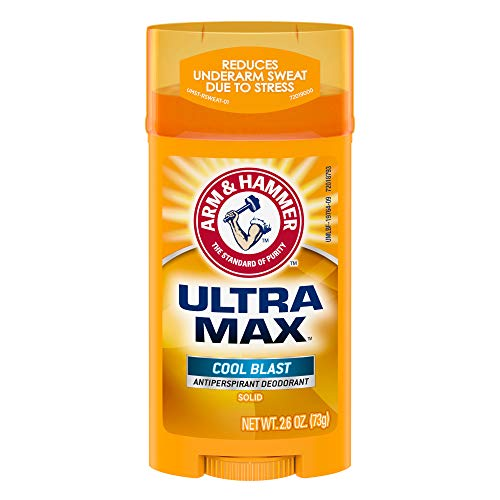 ARM & HAMMER ULTRA MAX Deodorant- Cool Blast- Solid - 2.6oz- Made with Natural Deodorizers