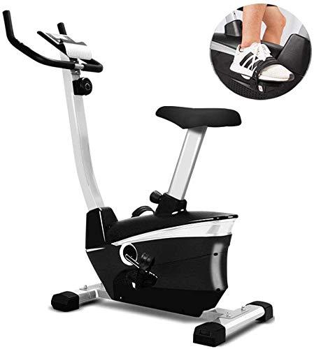 La pantalla de Inicio bicicleta estática es compatible con el ejercicio entrenador de bicicletas impulsado por el silencio de la correa del pulso de banda fijos vertical del pie ejercitador Cardio Tra