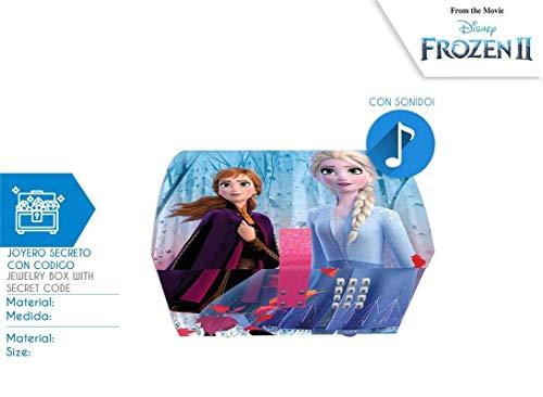 Kids Euroswan- Schmuckkästchen mit Code und Sound Frozen, Mehrfarbig (WD20823)