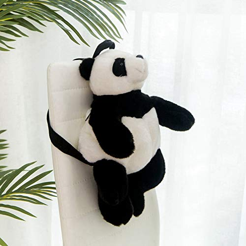 Panda Tijger Luipaard Rugzak Meisjes Jongens Pluche Verstelbare Schooltassen Knuffel Tas Speelgoed Kindercadeau 48 * 24 Cm D