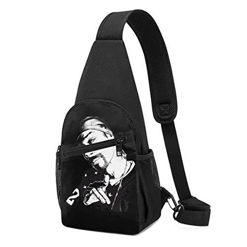 shenguang Snoop Dogg Elegante Crossbody Sling Mochila Sling Bag Viaje Senderismo Bolsa De Pecho Mochila