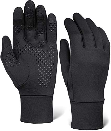 Touch Screen Running Gloves Thermal Winter Glove Liners for Cold Weather for Men Women Thin product image