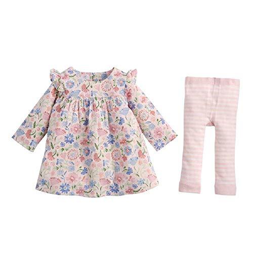 Mud Pie Kids Muslin Floral Dress and Pants (6-9 Months)