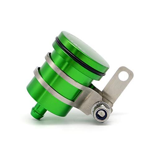 XIAOZHIWEN Motocicleta Universal Reservo de Freno Trasero Master Cilindro Fluido Botella de líquido Copa Aceital para Suzuki LTZ 400 DR 650 Burgman HNXZW (Color : Green)