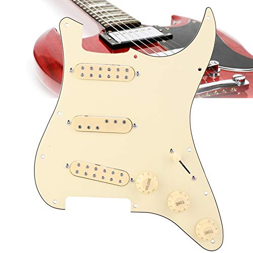 PVC-Kunststoff E-Gitarren-Schlagbrett, Schlagbrett, für die Heimschule
