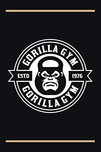 Gorilla Gym: Gorilla Monkey Gym Graph Paper Composition Notebook 120 pages 6'x9' 5x5 mm Graph Paper   Perfect As Math Book, Writing Notebook, Grid ... Gift For Red Gorilla Lovers Or Gym Lovers