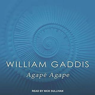 Agape Agape audiobook cover art