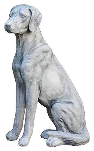 Desktop Sculpture Garden Dog Statue, Dog Sculpture Craft Model Animal Ornaments Garden Lawn Woodland Golden Retriever Large Retro Indoor And Outdoor Ornaments