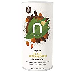 """Our hemp protein is made from cold-pressed, ground hemp seeds to provide the finest quality, chemical free protein blend. Perfect for adding to shakes, hot drinks and """"no-bake"""" desserts High in protein with a delicious chocolate taste Organic, vegan ..."""