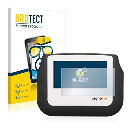 BROTECT Schutzfolie kompatibel mit Signotec Signature Pad Sigma (2 Stück) klare Displayschutz-Folie