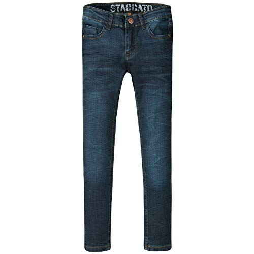 Jungen Jeans Jonas | Slim Fit - Stretch | Blue Denim 176 | 5-Pocket-Style | Casual