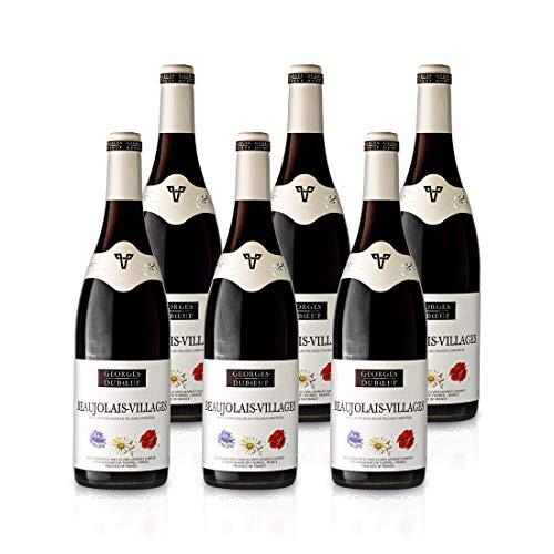 """2019 Beaujolais Villages Rouge """"Fleurs"""" - Georges Duboeuf - Rotwein trocken aus Frankreich/Beaujolais 6x 0,75L"""