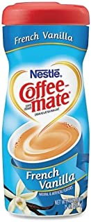 coffee-mate en polvo Creamer – French vanilla Flavor – 15 FL oz – 1/cada