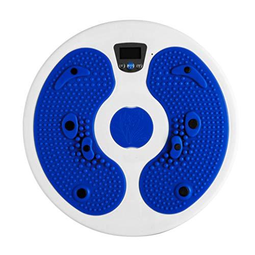 CLISPEED Fitness Twister Board Taille Fitnessgeräte für Taille Bauch Kern Abnehmen Fitness Übung Twisting Disc Tool Heimreisen ohne Batterie