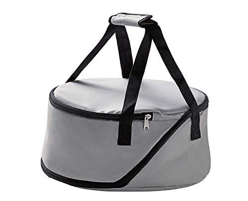 raumbox Playground isolierende Tragetasche Kühltasche für Backform Salatschüssel | mit stabilem Boden | Ø 32cm | Höhe 12cm
