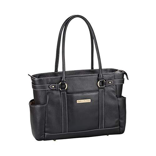Clark & Mayfield Hawthorne Leather Laptop Handbag 17.3'