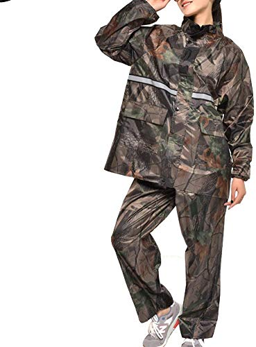 GRYY Outdoor Waterproof Clothing/Impermeable Traje de Lluvia Chaqueta Poncho Sello de Lluvia...